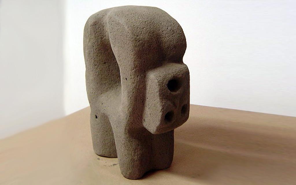 Escultura en cemento